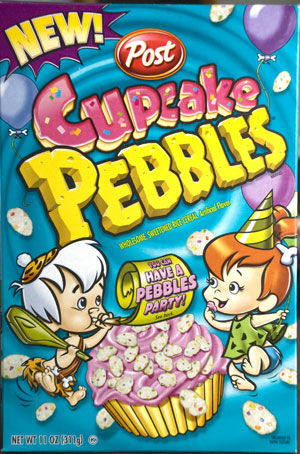 cupcakebox pebbles All About Breakfast Cereals
