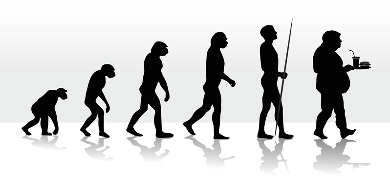 Evolution and the unhealthy diet