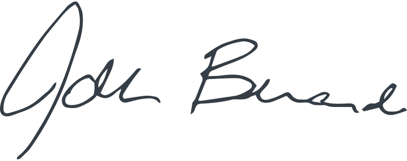 John Berardi Signature